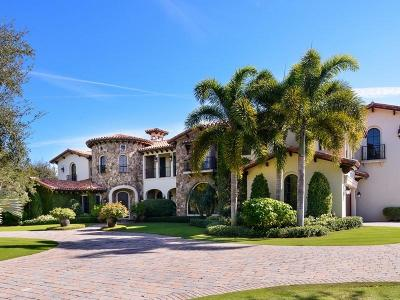 Jupiter Single Family Home For Sale: 209 Bears Club Drive