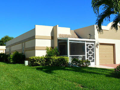 Boca Raton FL Single Family Home For Sale: $175,000
