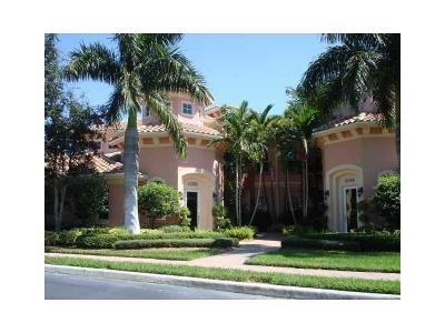 Palm Beach Gardens Rental For Rent: 11550 Villa Vasari Drive #1