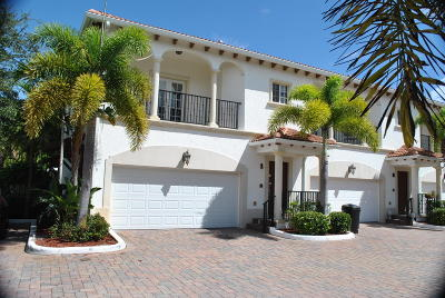 North Palm Beach Townhouse For Sale: 816 Prosperity Farms Road #1