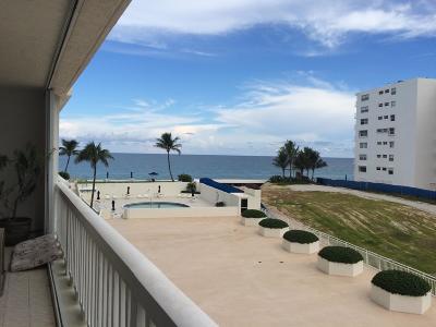 South Palm Beach Condo Sold: 3570 S Ocean Boulevard #407