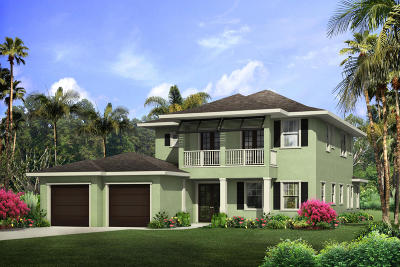 North Palm Beach Single Family Home For Sale: 2610 Estates Drive #12