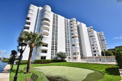 Coastal House Condo Condo For Sale: 2200 S Ocean Boulevard #207