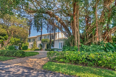 Broward County, Palm Beach County Single Family Home For Sale: 1240 Cocoanut Road