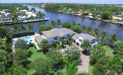 Broward County, Palm Beach County Single Family Home For Sale: 554 Palm Way