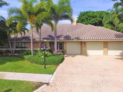 Boca Raton Single Family Home For Sale: 7764 Mandarin Drive