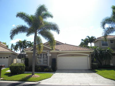 West Palm Beach Single Family Home For Sale: 8202 Quail Meadow Trace