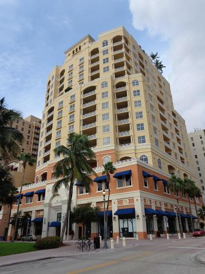 West Palm Beach Condo Sold: 201 S Narcissus Avenue #1502