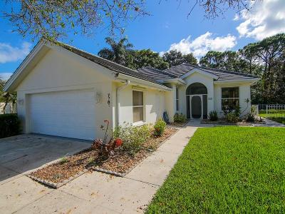 Single Family Home Sold: 7781 SE Needle Palm Circle