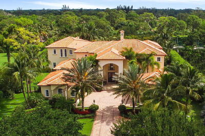 Palm Beach Gardens FL Single Family Home For Sale: $3,490,000