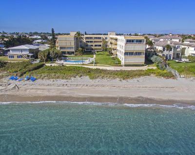 Highland Beach Condo For Sale: 2701 S Ocean Boulevard #28