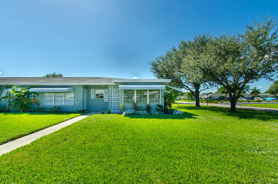 Delray Beach Single Family Home For Sale: 797 North Drive #D