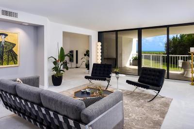 Palm Beach Condo For Sale: 3170 S Ocean Boulevard #S201