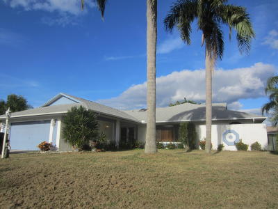 Port Saint Lucie FL Single Family Home Sold: $178,000