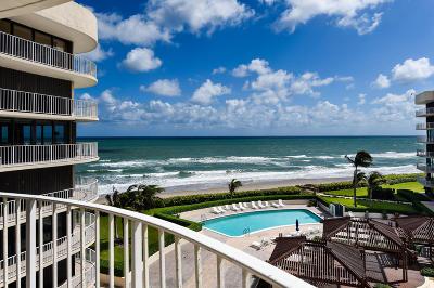 Palm Beach Condo For Sale: 3400 S Ocean Boulevard #5 G I