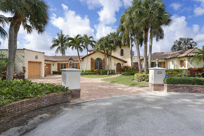 Gulf Stream, Ocean Ridge Single Family Home For Sale: 11 Hidden Harbour Drive