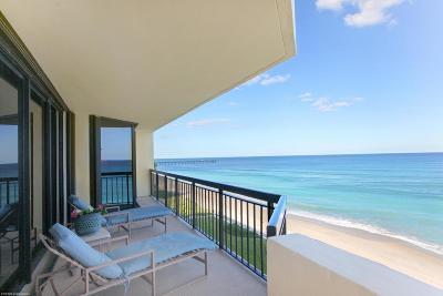 Palm Beach Condo For Sale: 3140 S Ocean Boulevard #503n