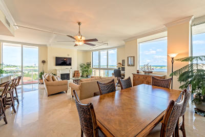 West Palm Beach Condo Sold: 1617 Flagler Drive #Lph1