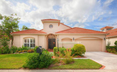 Jupiter Single Family Home For Sale: 3546 Lantern Bay Drive