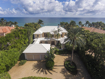 Broward County, Palm Beach County Single Family Home For Sale: 1535 Ocean Boulevard
