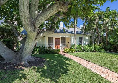 West Palm Beach Single Family Home For Sale: 293 Flamingo Drive