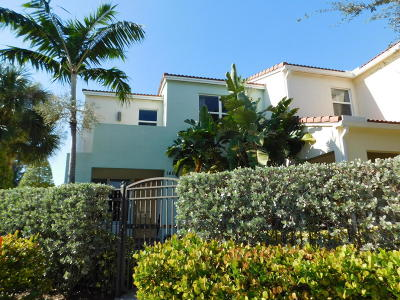 Boca Raton FL Townhouse For Sale: $395,000