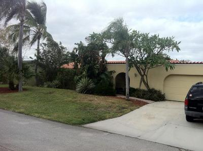 West Palm Beach Single Family Home For Sale: 315 Wilma Circle