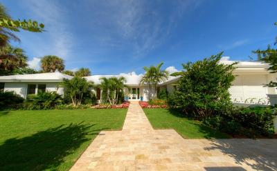 Palm Beach Single Family Home For Sale: 211 Caribbean Road