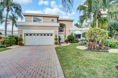 Boca Raton Single Family Home For Sale: 5831 Bridleway Circle