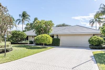 Boynton Beach Single Family Home For Sale: 11950 Lake Drive