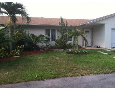 Lake Worth Single Family Home For Sale: 4780 Todd Street