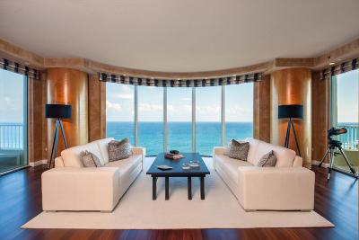 Highland Beach Condo Sold: 3740 S Ocean Boulevard #1101