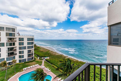 Boca Raton Townhouse For Sale: 2575 S Ocean Boulevard #305s