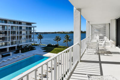 Palm Beach Condo Sold: 2784 S Ocean Boulevard #303 N