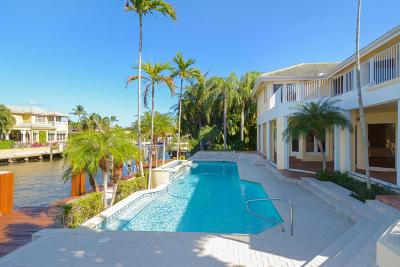 Broward County, Palm Beach County Single Family Home For Sale: 11 Inlet Cay Drive