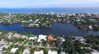 Delray Beach Single Family Home For Sale: 209 Palm Trail
