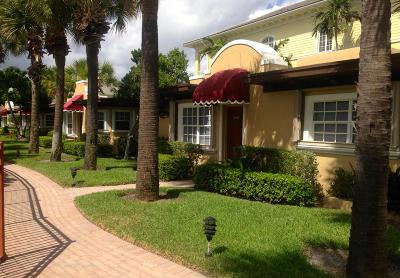 Casa Playa Condo Single Family Home For Sale: 1855 S Ocean Boulevard #8