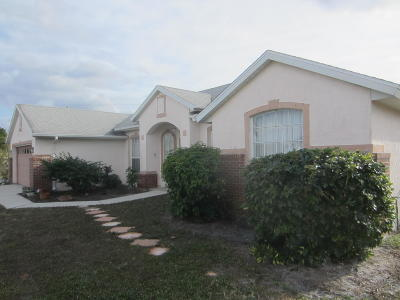 Port Saint Lucie FL Single Family Home Sold: $180,500