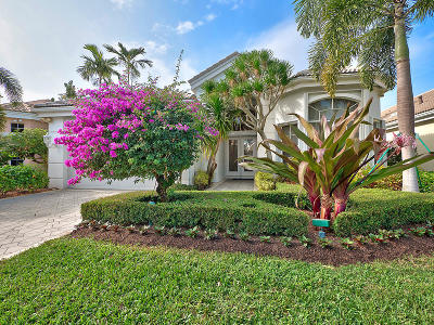 Palm Beach Gardens Single Family Home For Sale: 133 Windward Drive