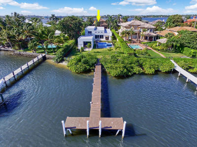 Lantana Single Family Home For Sale: 1126 Atlantic Drive