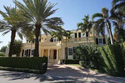 Palm Beach Single Family Home For Sale: 528 Lake Way