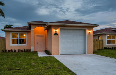 Palm Acres Estates Single Family Home For Sale: 2952 Ohio Street