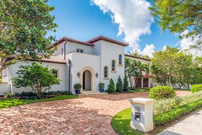 Palm Beach Single Family Home For Sale: 110 Wells Road
