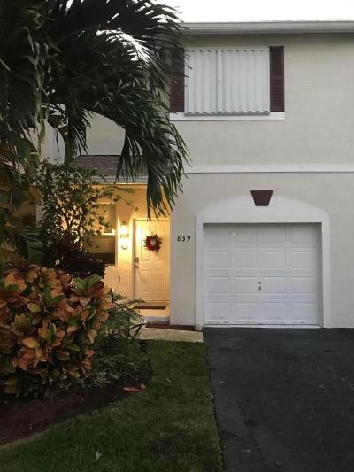 Deerfield Beach Rental Contingent: 839 NW 42nd Place