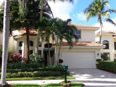 West Palm Beach Single Family Home For Sale: 8453 Legend Club Drive