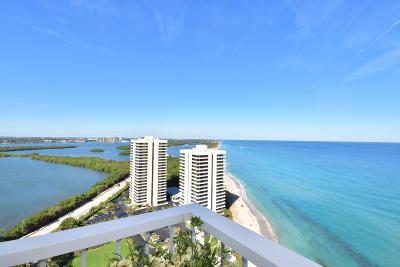 Singer Island Rental For Rent: 5510 Ocean Drive #25c