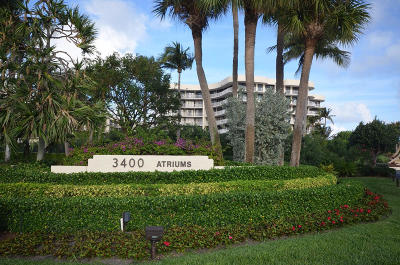 Palm Beach Condo For Sale: 3400 S Ocean Boulevard #1 B I
