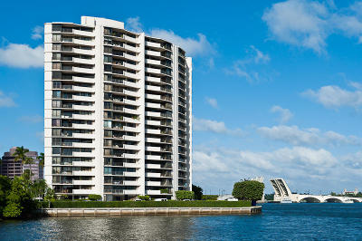 West Palm Beach Condo Sold: 1200 S Flagler Drive #406 & 50