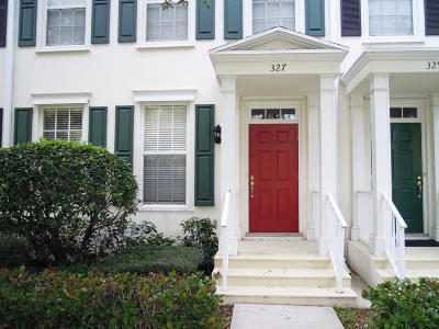 Townhouse Closed: 327 Legare Court