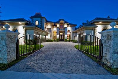 Boca Raton Single Family Home For Sale: 17162 Avenue Le Rivage